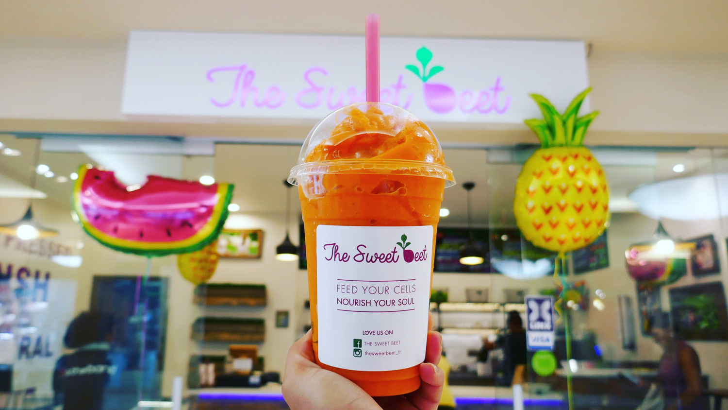 The Sweet Beet Juice Bar